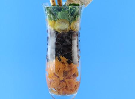 Five Layered Veggie Dip: A Skin Saving Snack