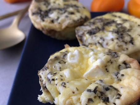 Cauliflower Mini Quiche: A Skin Saving Start