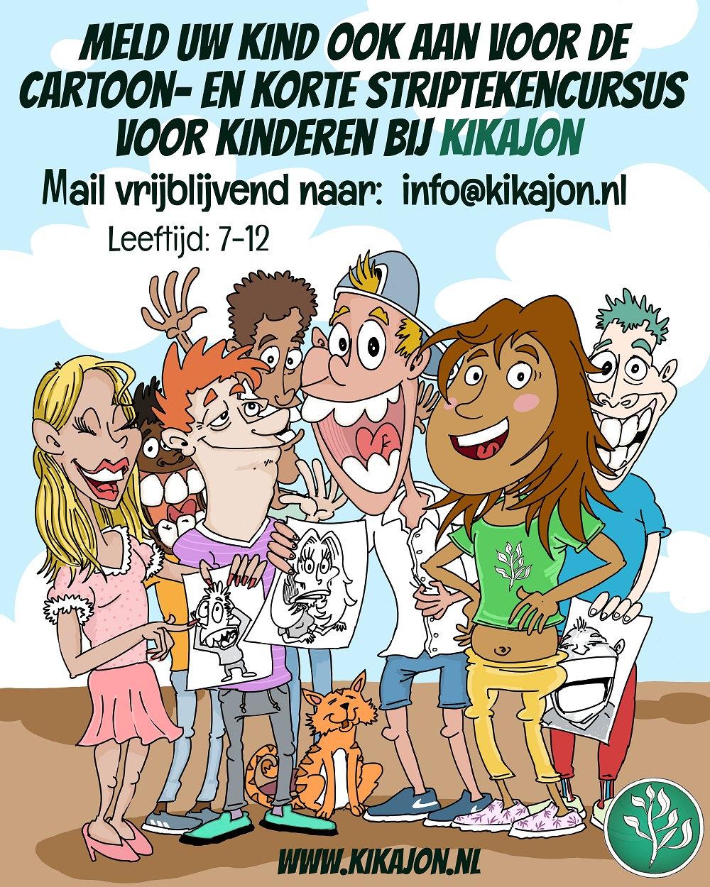 Cartoon- & Korte Striptekenen voor Kids