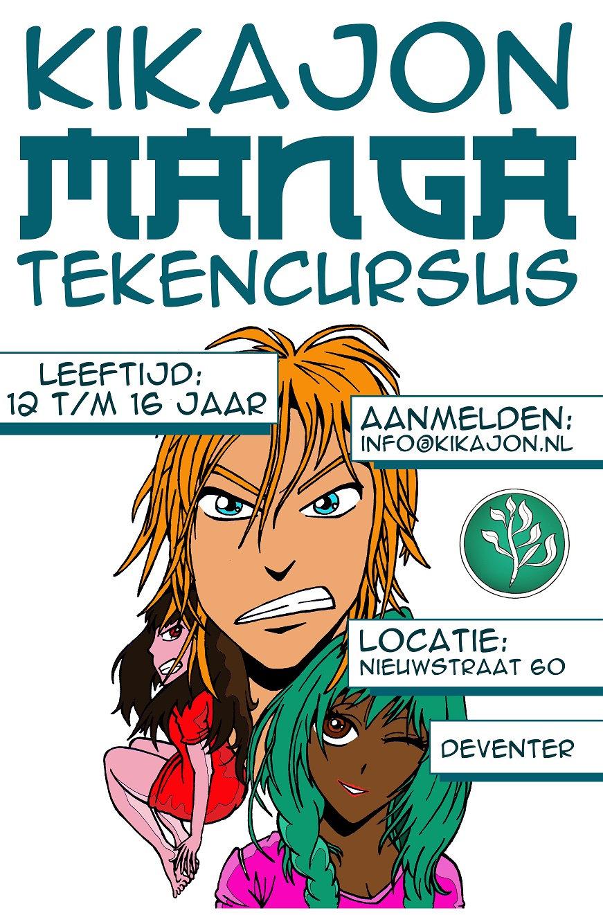 Copy of Manga-ka Tekencursus voor Jongeren
