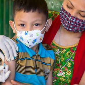 En octubre inicia vacunación contra COVID19 para niños y adolescentes con enfermedades crónicas