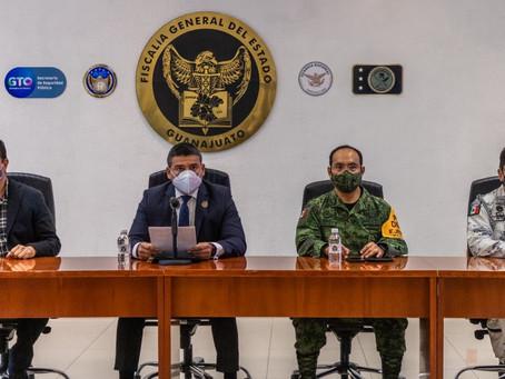 La FGE en coordinación con el Ejército Mexicano, Guardia Nacional y SSPE capturó 22 delincuentes