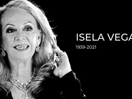 Isela Vega ícono sensual del cine mexicano muere a los 81 años