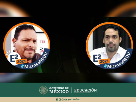 SEP reconoce a Luis Enrique Olazarán y a Víctor Leyva, docentes del CONALEP