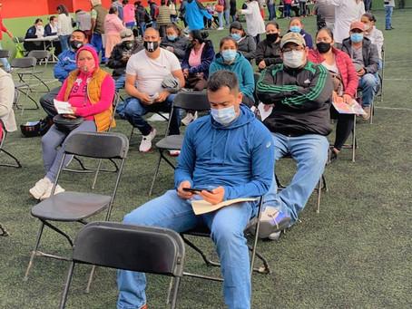 Arranca sin contratiempos vacunación de sector de 30 a 39 años en el noreste de Guanajuato