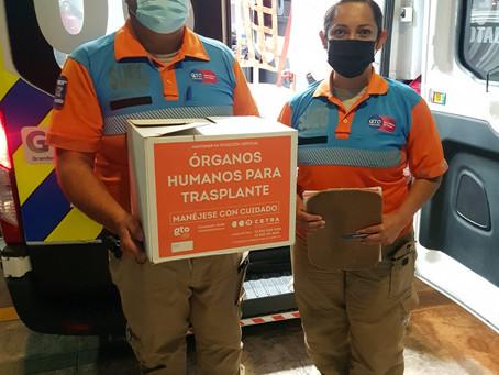 Guanajuato segundo estado del país con más donaciones de órganos concretadas en el primer semestre