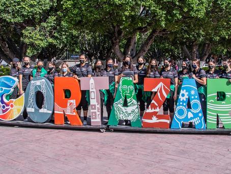 Conviven Selección Mexicana y Colombiana de Voleibol en Cortazar
