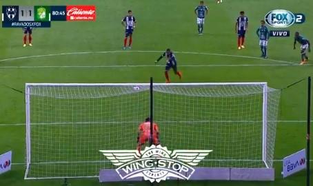 Partido pendiente entre Monterrey y León se reparten puntos, quedando 1-1
