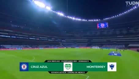 La Máquina del Cruz Azul está imparable, derrota 1-0 a los Rayados del Monterrey