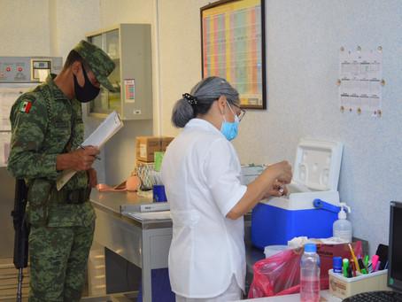 El material utilizado en vacunación es clasificado como residuo sólido urbano y no representa riesgo