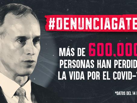 A un año de ser denunciado, López-Gatell no ha sido investigado y la situación del Covid19 en México