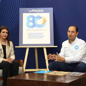Celebra PAN 80 Años de la Revista La Nación