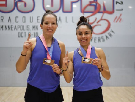 Longoria y De la Rosa se proclaman campeones del US Open en Minnesota