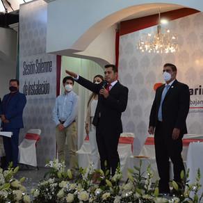 Con gran apoyo de la ciudadanía, Moisés Maldonado asumió como Presidente Municipal de Tarimoro
