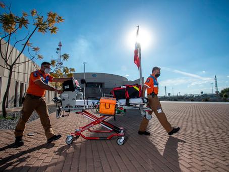 El sistema de urgencias responde con profesionalismo con más de 6 mil traslados durante la pandemia