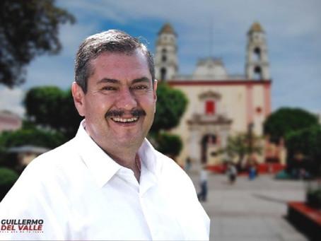 """Guillermo del Valle: """"Mi compromiso es servir a los cuautlenses"""""""
