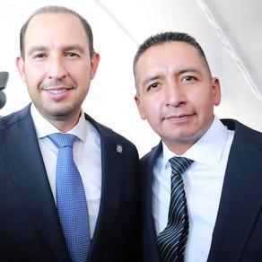 Los pésimos gobiernos municipales que tiene Puebla hoy terminan y empiezan los buenos: Marko Cortés