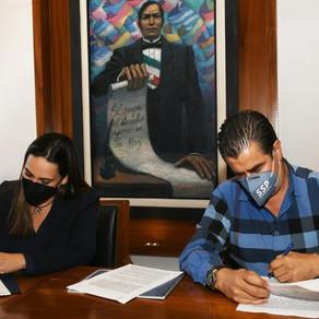 Firman SSPEG y el Gobierno Municipal de Irapuato, convenios de colaboración en materia de seguridad