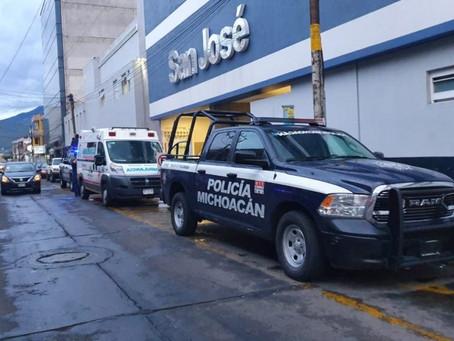 Ataque armado en depósito de cerveza deja un muerto en Michoacán