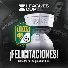 León Campeón de la Leagues Cup 2021