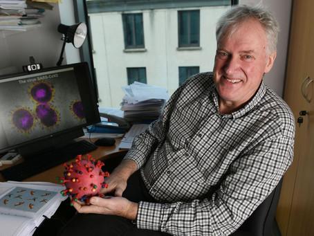 Inmunólogo irlandés, Luke O'Neill reveló que estaríamos cerca del fin de la pandemia