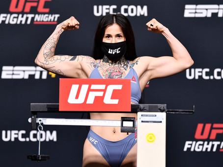 Leonesa debuta en UFC con un triunfo dominante, ella es Montserrat Conejo Ruiz