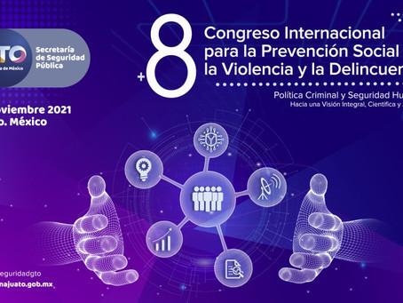 Mil 500 personas para el 8º Congreso Internacional de la Prevención Social de la Violencia