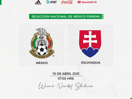 Selección Femenil Mexicana tendrá rivales a medirse en Europa, el siguiente es contra Eslovaquia