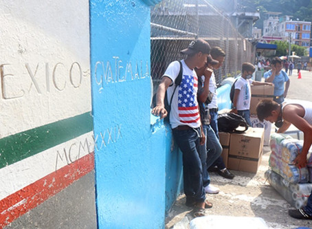 Abre Guatemala frontera con México