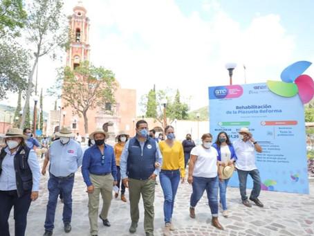 Amplían Zona Arqueológica Arroyo Seco y fortalecen Sector Salud en Victoria