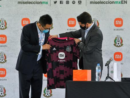 Xiaomi nuevo patrocinador de la Selección Mexicana de Fútbol