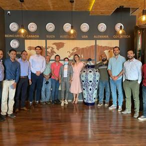 Directivos de Exporta Technologies visitaron empresas exportadoras de Guanajuato junto con COFOCE