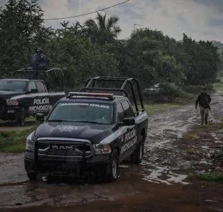 Abaten a sujeto armado durante balacera en Uruapan