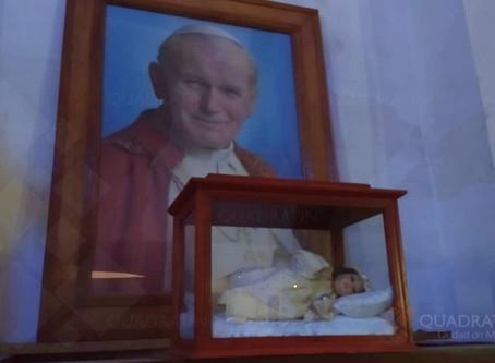 Sacrilegio en Italia: roban reliquia de San Juan Pablo II