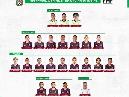 Convocatoria de la Selección Nacional de México Para Los Juegos Olímpicos