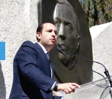 Continúa la improvisación y negligencia, a 16 meses de la pandemia en México: Marko Cortés