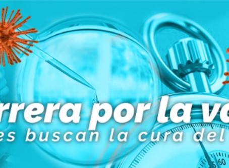 La carrera por la vacuna contra el coronavirus (COVID-19)