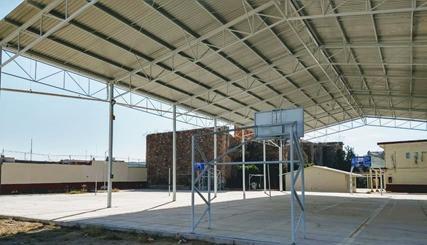 Municipio comprometido con obra educativa y deportiva