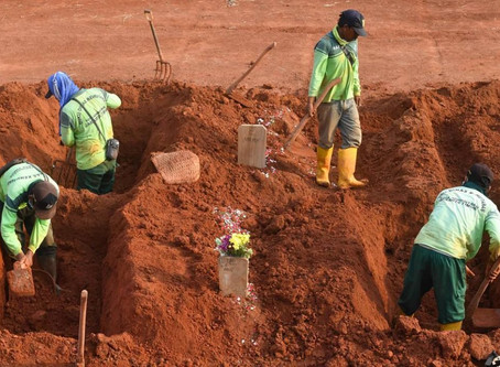 Castigo: Si no usas CUBREBOCAS deberás CAVAR tumbas para víctimas de Covid 19