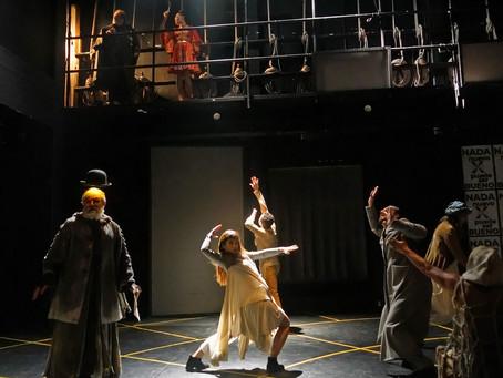 Estar sin sitio, obra la Compañía Nacional de Teatro del INB en el Teatro Bicentenario