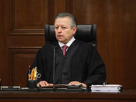Senado amplía 2 años presidencia de Arturo Zaldívar en la Corte