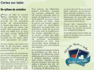 Bulletin Municipal Septembre 2010