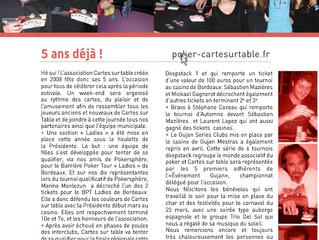 Bulletin Municipal Mai 2013