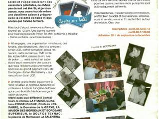 Bulletin Municipal Aout 2009