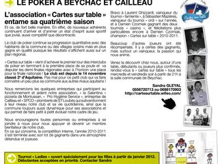 Bulletin Municipal Décembre 2011