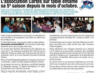 Bulletin Municipal Décembre 2012