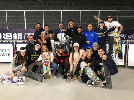 World Skate em Nanjing, China!