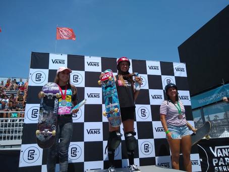 Bicampeã no Vans Park Series Women´s Continental Championships