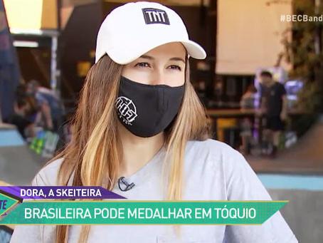 Dora Varella, a esperança  de medalha no skate brasileiro nas Olimpíadas de Tokyo 2020