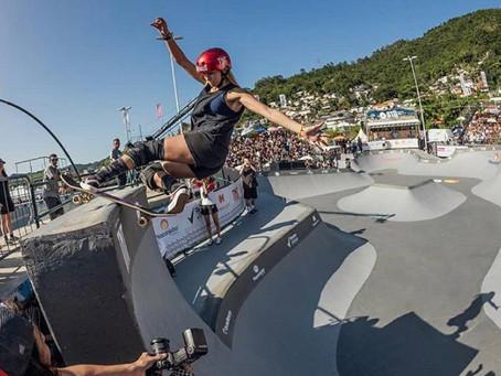 De olho na Olimpíada, Dora Varella voa no fim e fatura o título do STU de Florianópolis